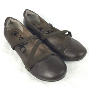 OTBT Ardmore Flats 6 Leather Ballet Slip-On